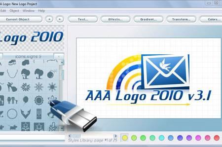Logo aaa программу логотипов создания rus для